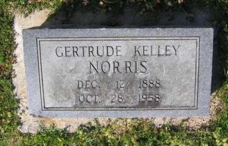 KELLEY NORRIS, LILLIE GERTRUDE - Lawrence County, Arkansas | LILLIE GERTRUDE KELLEY NORRIS - Arkansas Gravestone Photos