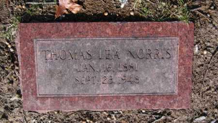 NORRIS, THOMAS LEA - Lawrence County, Arkansas | THOMAS LEA NORRIS - Arkansas Gravestone Photos