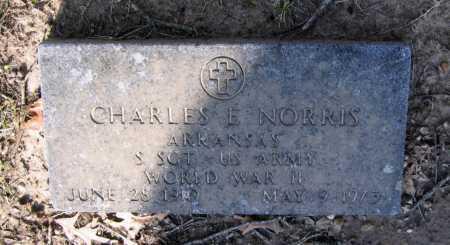NORRIS (VETERAN WWII), CHARLES EDWARD - Lawrence County, Arkansas   CHARLES EDWARD NORRIS (VETERAN WWII) - Arkansas Gravestone Photos