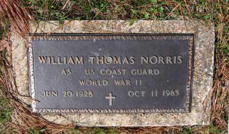 NORRIS (VETERAN WWII), WILLIAM THOMAS - Lawrence County, Arkansas | WILLIAM THOMAS NORRIS (VETERAN WWII) - Arkansas Gravestone Photos