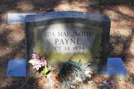 RANEY, IDA MAE MCKINNEY NOTH PAYNE - Lawrence County, Arkansas | IDA MAE MCKINNEY NOTH PAYNE RANEY - Arkansas Gravestone Photos