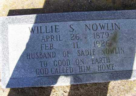 """NOWLIN, JR., WILLIAM SILAS """"WILLIE"""" - Lawrence County, Arkansas 