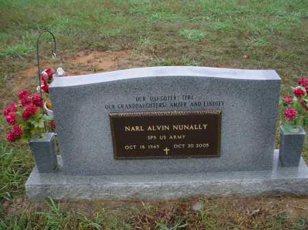 "NUNALLY (VETERAN), NARL ALVIN ""SONNY"" - Lawrence County, Arkansas | NARL ALVIN ""SONNY"" NUNALLY (VETERAN) - Arkansas Gravestone Photos"