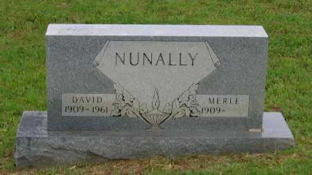 NUNALLY, DAVID BERNARD - Lawrence County, Arkansas | DAVID BERNARD NUNALLY - Arkansas Gravestone Photos