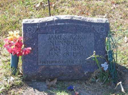 NUNNALLY, JAMES AZRO - Lawrence County, Arkansas | JAMES AZRO NUNNALLY - Arkansas Gravestone Photos