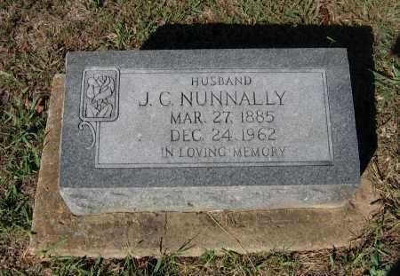 NUNNALLY, JOHN C. ZEBEDEE - Lawrence County, Arkansas | JOHN C. ZEBEDEE NUNNALLY - Arkansas Gravestone Photos