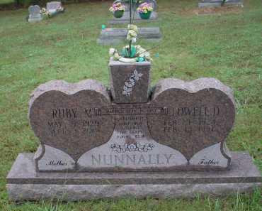NUNNALLY, LOWELL DEVOE - Lawrence County, Arkansas | LOWELL DEVOE NUNNALLY - Arkansas Gravestone Photos