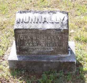 NUNNALLY, JOSEPHINE OLA - Lawrence County, Arkansas | JOSEPHINE OLA NUNNALLY - Arkansas Gravestone Photos