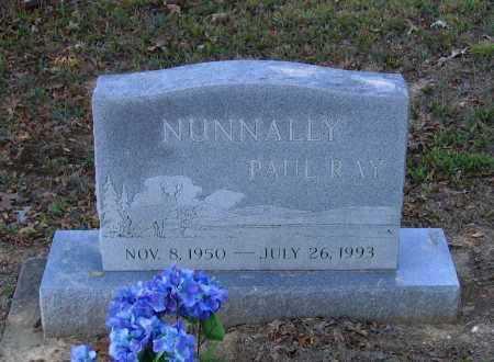 NUNNALLY, PAUL RAY - Lawrence County, Arkansas   PAUL RAY NUNNALLY - Arkansas Gravestone Photos