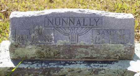 "NUNNALLY, MARTHA LOUISA ""LOU"" - Lawrence County, Arkansas | MARTHA LOUISA ""LOU"" NUNNALLY - Arkansas Gravestone Photos"