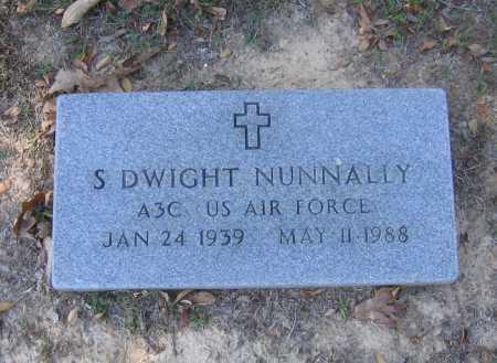 NUNNALLY (VETERAN), SHERRIL DWIGHT - Lawrence County, Arkansas | SHERRIL DWIGHT NUNNALLY (VETERAN) - Arkansas Gravestone Photos