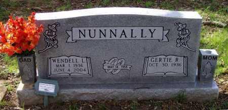 NUNNALLY, WENDELL LACY - Lawrence County, Arkansas | WENDELL LACY NUNNALLY - Arkansas Gravestone Photos