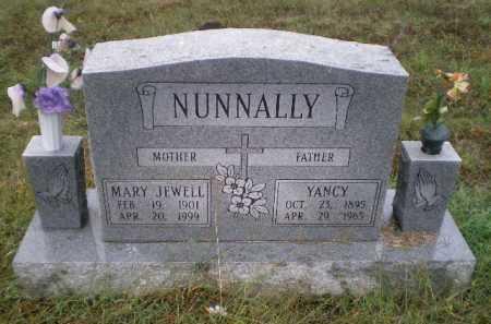 NUNNALLY, YANCY ASTOR - Lawrence County, Arkansas | YANCY ASTOR NUNNALLY - Arkansas Gravestone Photos