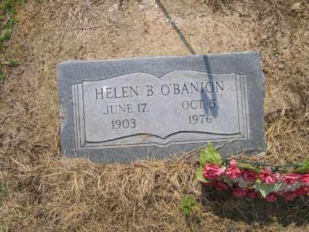 O'BANION, HELEN B. - Lawrence County, Arkansas   HELEN B. O'BANION - Arkansas Gravestone Photos