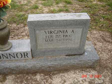 O'CONNOR, VIRGINIA A. - Lawrence County, Arkansas | VIRGINIA A. O'CONNOR - Arkansas Gravestone Photos