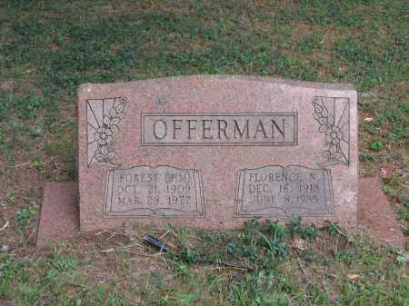 WATTS OFFERMAN, FLORENCE NELDORA - Lawrence County, Arkansas   FLORENCE NELDORA WATTS OFFERMAN - Arkansas Gravestone Photos