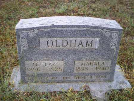 OLDHAM, HENRY CLAY - Lawrence County, Arkansas | HENRY CLAY OLDHAM - Arkansas Gravestone Photos
