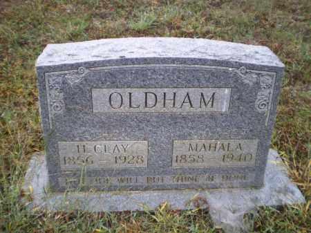 OLDHAM, SARAH MAHALA - Lawrence County, Arkansas | SARAH MAHALA OLDHAM - Arkansas Gravestone Photos