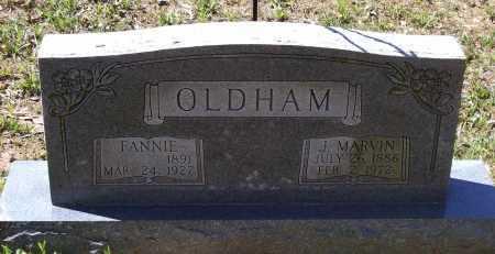 "CARLTON OLDHAM, FRANCES MIRIAM ""FANNIE"" - Lawrence County, Arkansas   FRANCES MIRIAM ""FANNIE"" CARLTON OLDHAM - Arkansas Gravestone Photos"