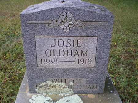 OLDHAM, JOSIE AMANDA - Lawrence County, Arkansas | JOSIE AMANDA OLDHAM - Arkansas Gravestone Photos