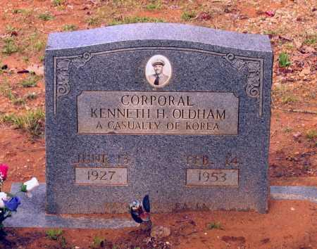 OLDHAM, KENNETH H. - Lawrence County, Arkansas | KENNETH H. OLDHAM - Arkansas Gravestone Photos