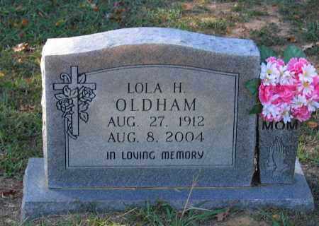 PARKER OLDHAM, LOLA HELEN - Lawrence County, Arkansas | LOLA HELEN PARKER OLDHAM - Arkansas Gravestone Photos