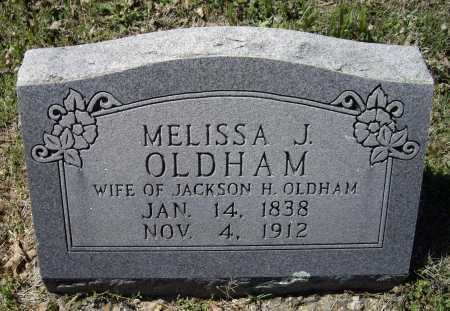 OLDHAM, MELISSA J - Lawrence County, Arkansas   MELISSA J OLDHAM - Arkansas Gravestone Photos