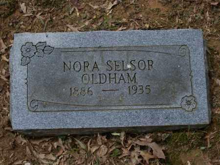 OLDHAM, NORA B. - Lawrence County, Arkansas | NORA B. OLDHAM - Arkansas Gravestone Photos