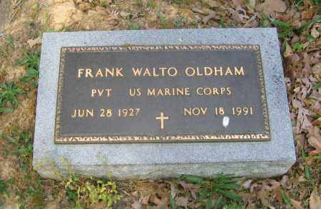 OLDHAM (VETERAN), FRANKLIN WALTO - Lawrence County, Arkansas | FRANKLIN WALTO OLDHAM (VETERAN) - Arkansas Gravestone Photos