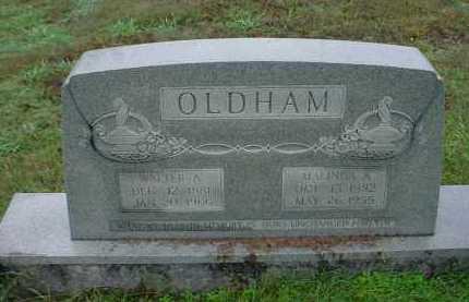 OLDHAM, MALINDA ANN - Lawrence County, Arkansas | MALINDA ANN OLDHAM - Arkansas Gravestone Photos