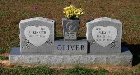 "RICHEY OLIVER, THELMA BERNICE ""PATSY"" - Lawrence County, Arkansas | THELMA BERNICE ""PATSY"" RICHEY OLIVER - Arkansas Gravestone Photos"