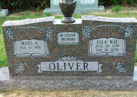 OLIVER, ELLA MAE - Lawrence County, Arkansas   ELLA MAE OLIVER - Arkansas Gravestone Photos