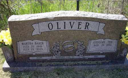 BAKER OLIVER, MARTHA ELAINE - Lawrence County, Arkansas | MARTHA ELAINE BAKER OLIVER - Arkansas Gravestone Photos
