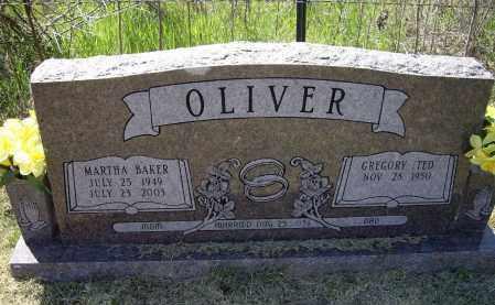 BAKER OLIVER, MARTHA ELAINE - Lawrence County, Arkansas | MARTHA ELAINE BAKER OLIVER - Arkansas Gravestone Photos