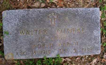 O'NEAL (VETERAN WWII), WALTER - Lawrence County, Arkansas | WALTER O'NEAL (VETERAN WWII) - Arkansas Gravestone Photos