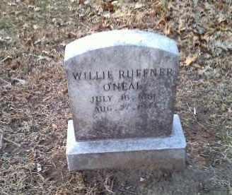 O'NEAL, WILLIE - Lawrence County, Arkansas   WILLIE O'NEAL - Arkansas Gravestone Photos