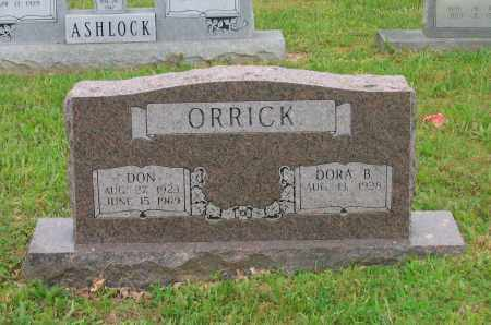 ORRICK, DON - Lawrence County, Arkansas | DON ORRICK - Arkansas Gravestone Photos