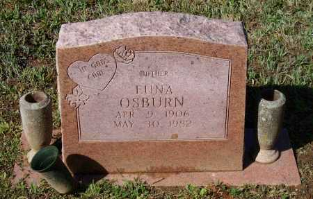 SMITH OSBURN, EUNA - Lawrence County, Arkansas | EUNA SMITH OSBURN - Arkansas Gravestone Photos