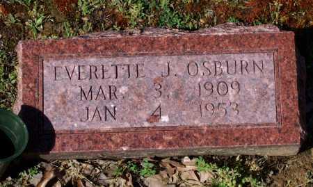 OSBURN, EVERETTE JEFFERSON - Lawrence County, Arkansas | EVERETTE JEFFERSON OSBURN - Arkansas Gravestone Photos