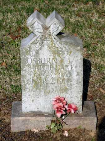 "OSBURN, HARRIETT JANE ""HATTIE"" - Lawrence County, Arkansas   HARRIETT JANE ""HATTIE"" OSBURN - Arkansas Gravestone Photos"