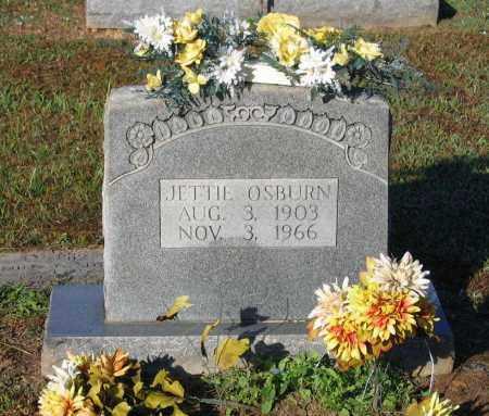 MULLEN OSBURN, JETTIE - Lawrence County, Arkansas | JETTIE MULLEN OSBURN - Arkansas Gravestone Photos