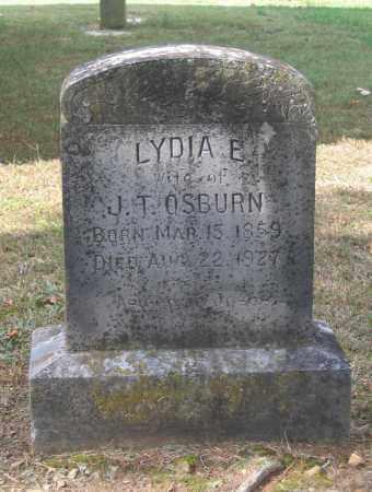 OSBURN, LYDIA ELIZABETH - Lawrence County, Arkansas | LYDIA ELIZABETH OSBURN - Arkansas Gravestone Photos