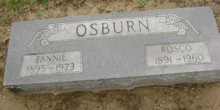 OSBURN, ROSCO - Lawrence County, Arkansas | ROSCO OSBURN - Arkansas Gravestone Photos