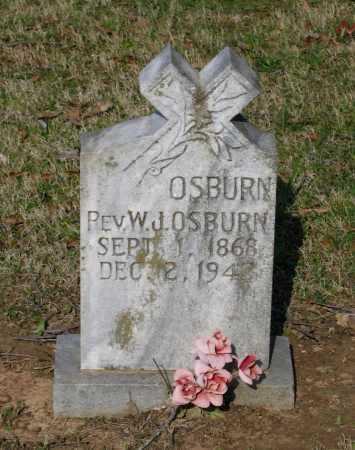 OSBURN, REV., WILLIAM JEFFERSON - Lawrence County, Arkansas | WILLIAM JEFFERSON OSBURN, REV. - Arkansas Gravestone Photos
