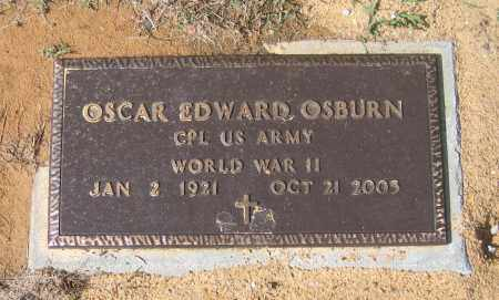 OSBURN (VETERAN WWII), OSCAR EDWARD - Lawrence County, Arkansas   OSCAR EDWARD OSBURN (VETERAN WWII) - Arkansas Gravestone Photos
