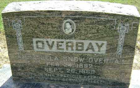 SNOW OVERBAY, ANNA LELA - Lawrence County, Arkansas | ANNA LELA SNOW OVERBAY - Arkansas Gravestone Photos