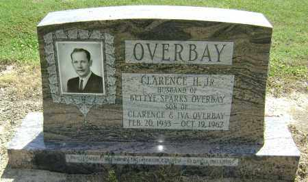 OVERBAY JR., CLARENCE H. - Lawrence County, Arkansas | CLARENCE H. OVERBAY JR. - Arkansas Gravestone Photos