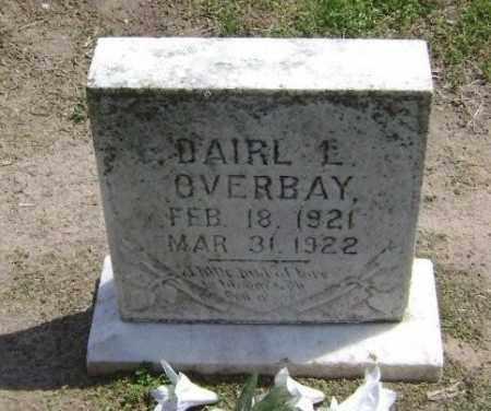 OVERBAY, DAIRL L - Lawrence County, Arkansas | DAIRL L OVERBAY - Arkansas Gravestone Photos