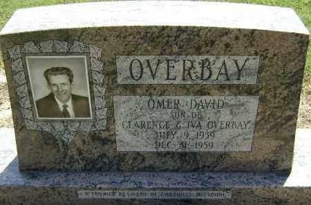 OVERBAY, OMER DAVID - Lawrence County, Arkansas | OMER DAVID OVERBAY - Arkansas Gravestone Photos