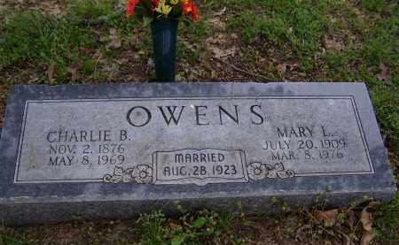 OWENS, CHARLIE B. - Lawrence County, Arkansas | CHARLIE B. OWENS - Arkansas Gravestone Photos